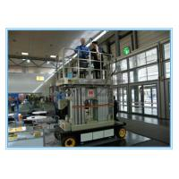 Buy cheap Four Mast Self Propelled Aerial Scissor Lift 10m For Business Decoration from wholesalers