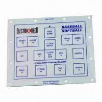 Buy cheap Membrane Keyboard Switch, Pillowing Embossing and Metal Domes for Game Equipment from wholesalers