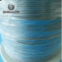 Buy cheap CE Approved FeCrAl Alloy NiCr2080 Heating Flat Wire For Sealing Machine from wholesalers