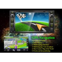 Buy cheap Black Toyota Car DVD Player Rear View Camera With Radio And Bluetooth from wholesalers
