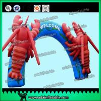 Buy cheap Inflatable Lobster Arch For Event Decoration Animal Replica from wholesalers