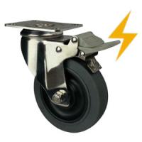Buy cheap stainless steel antistatic castors from wholesalers
