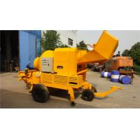 Buy cheap HBT1508 Batching Machine Concrete Pan Mixer 100 Or 125mm Pipe Diameter from wholesalers