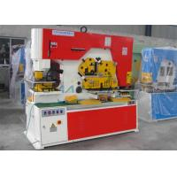 Buy cheap Multi Function Hydraulic Ironworker Machine Stainless Steel Cutting Material from wholesalers