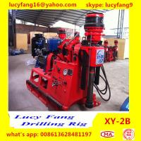 Buy cheap China Deutz Engine High Quality Thailand  Popular XY-2B Skid Mounted Spindle Type Geotechnical Core Drilling Rig In Iran product