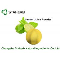 Buy cheap Lemon Juice Powder / Natural Food Additives Anti- Aging And Anti - Hyperpigmentation from wholesalers