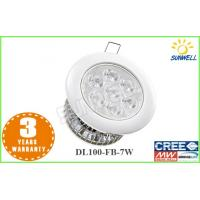Buy cheap Die-cast aluminum housing cool white led 7w led downlight ​ for Hotels Restaurants from wholesalers