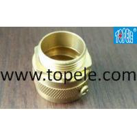 Buy cheap Long Life Flexible Conduit And Fittings CNC Machine Brass Male Adapter from wholesalers