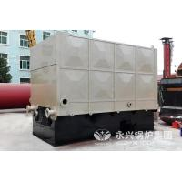 Buy cheap Wood Coal Fired Thermic Fluid Heater Oil System , Thermal Fluid Boiler 4600 KW from wholesalers