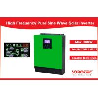 Buy cheap 1Ph in / 1Ph Out Solar Power Inverters System high power with Heat Sink , 1- 5KVA Capacity from wholesalers