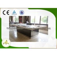 Buy cheap Mysterious Light Teppanyaki Hibachi Grill Table Customized 8 Seats Capacity from wholesalers