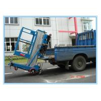 Buy cheap Window Cleaning Operate Elevated Work Platforms , 8 Meter Height Vertical Mast Lift from wholesalers