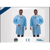 China Unisex Non Irritating Disposable Lab Jackets Non Toxic For Hospital on sale