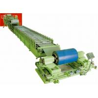 Buy cheap discontinuous aluminum / PU Steel roof sandwich panel roll forming machinery from wholesalers