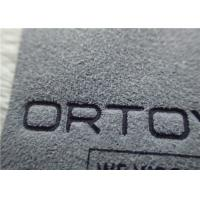 Buy cheap Micro Fibre Customized Logo Printing Normal Ink High Frequency Stereoeffect Label Patches from wholesalers