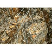 Buy cheap Metal tecco mesh Rockfall Protection Netting / Avalanche protective mesh from wholesalers