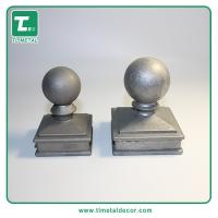 Buy cheap Manufacture Aluminum die casting ball caps fence post caps pole cap from wholesalers