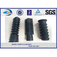 Buy cheap Black Plastic And Rubber Part Railway HDPE And PA66 Dowel For Screw from wholesalers