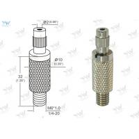 Buy cheap Φ10mm Brass Material Grip Lock Cable Grippers Nickel Finishing With  Security Cap from wholesalers