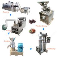 Buy cheap 100-300KG/H Cacao Powder Making Machine Cocoa Powder Production Line from wholesalers