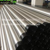 Buy cheap ASTM A312 Stainless Steel Welded Water Well Casing Tube Plein from wholesalers