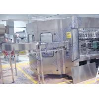 Buy cheap PLC Control Carbonated Beverage Filling Machine , Soft Drink Bottling Machine from wholesalers