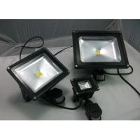 Buy cheap  LED Flood Light Waterproof Outdoor lamp PIR Motion Sensor 30w Light lighting AC85V-265V from wholesalers