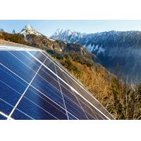 Buy cheap Blue 72 Cell Solar Power Panels , Off Grid Solar Modules Customized Size from wholesalers