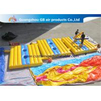 Buy cheap High Tensile Strength Inflatable Sports Games , Blow Up Battle Mat Air Combat product