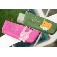 Buy cheap Popular Europe eco-friendly felt pencil case for school students from wholesalers