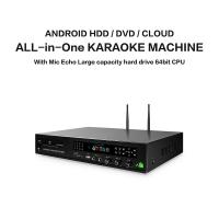 Buy cheap Professional home ktv karaoke player sing machine hd jukebox with songs cloud,support  H.265 video, build in AGC/AVC from wholesalers