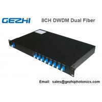 Buy cheap 100Ghz DWDM 8 Channel Multiplexer and Demultiplexer in unit dual fiber from wholesalers