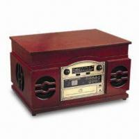 Buy cheap Nostalgic Wooden Music Center with 13W Power Consumption, USB Player and FM Pig-tail Antenna from wholesalers