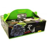 Buy cheap Recycled Cardboard Fruit Packing Boxes For Supermarket , Custom Printed Logo from wholesalers