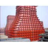Buy cheap Recycled 300 * 1 , 100 * 100 * 600mm Red Steel Formwork For Reservoirs , Large - Scale Stadiums product