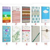 Buy cheap New Arrival Fashion Design Colorful PU Flip Leather Cover Case For Huawei Ascend P6 from wholesalers