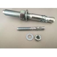 Buy cheap Hardware Fasteners Expansion Anchor Bolt Wedge Anchors With White Zinc Plated from wholesalers