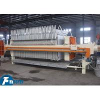 Buy cheap 902L Mechanical Filter Press 870mm Automatic Pulling Plate With Shaking System from wholesalers