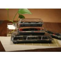 Buy cheap Ssquare Plastic Sushi Box / Disposable Sushi Containers With Lid For Take Out from wholesalers