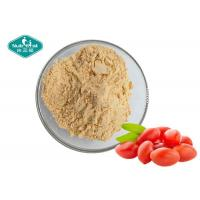 Buy cheap Organic Red Wolfberry Fruit And Vegetable Powder / Freeze Dried Goji Berry Powder from wholesalers