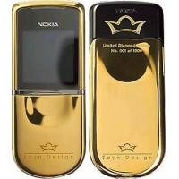Buy cheap Cellphone 8800 Sirocco  Diamond Edition Gold Color from wholesalers