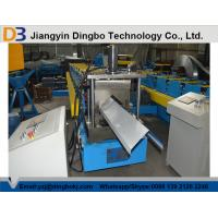 Buy cheap High Precision Metal Roof Ridge Cap Roll Forming Machine With 5 Ton Decoiler from wholesalers