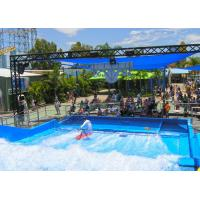 Buy cheap Most Popular Fiberglass Surfing Simulator Single Flow Ride With Waterproof Software Material product