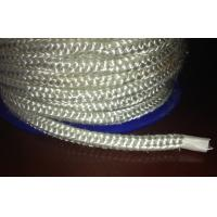 Buy cheap White Fireproof High Temperature Fiberglass Round Rope For Insulation from wholesalers