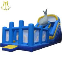 Buy cheap Hansel low price funfair games inflatable combo bouncers for kids wholesale from wholesalers