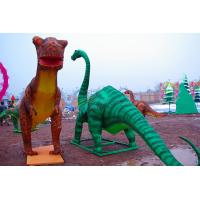Buy cheap Electric Silk Fabric Chinese Lanterns Dinosaur Shaped For New Year Show from wholesalers