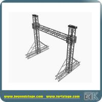 Buy cheap Aluminum lighting truss lifting/curved truss led light /lighting tower truss from wholesalers
