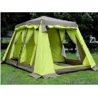 Buy cheap automatic easy to set up camping tent ,family camping tent 5-8 person 2 room 6 door for big family from wholesalers