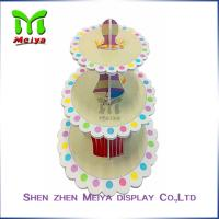 Buy cheap New Year Party Pack Cardboard Cake Stands , cardboard cupcake tower from wholesalers