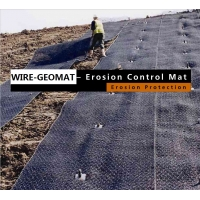 Buy cheap 3D Erosion Control Mat-Wire Mesh Reinforced GeoMat for Slope Soil Reinforcement,stop erosion and promote revegetation from wholesalers